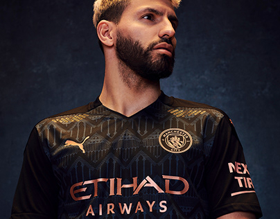 Graphic Design Manchester City Away Kit 2020/21