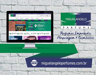 Web Design | Miguelangelo Perfumes
