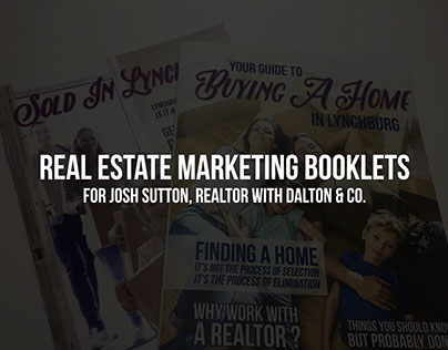 Real Estate Marketing Booklets for Josh Sutton
