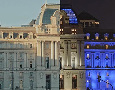 Dia y noche, Buenos Aires.