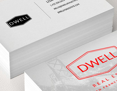 Identity Design for Dwell Real Estate