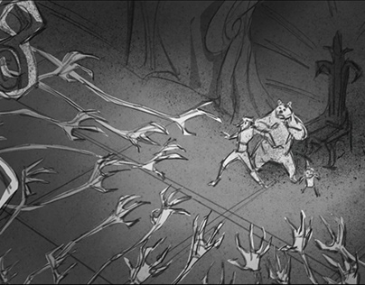 Storyboard for Feature Animated Film