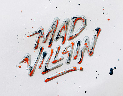 Mad Villain - Wet Acrylic