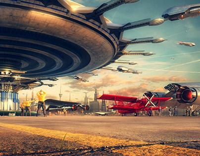 """Airport"" Scene in Detail"