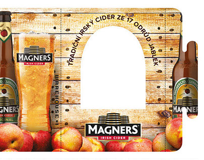 Magners Table Tent
