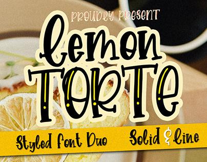 Lemon Torte - Handwritten Font