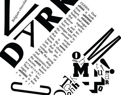 Filippo Marinetti Inspired Godiva Poster