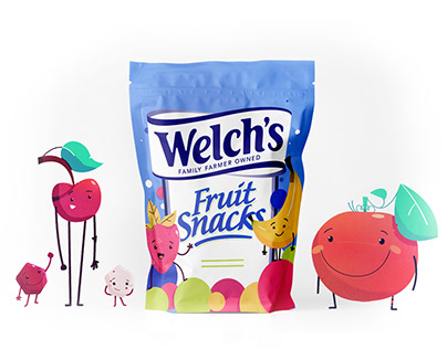 Welch's Fruit Snacks: Animation & Character Design