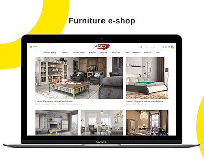 A je to - furniture e-shop