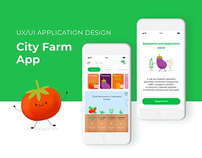 Мобильное приложение City Farm App