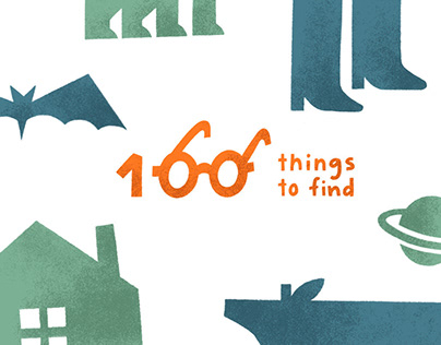 100 Things to Find - Children Poster