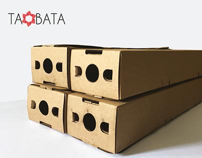 Taobata Sistema de embalaje para exportación de flores