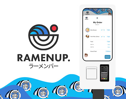 Ramen Up - Food Ordering Kiosk