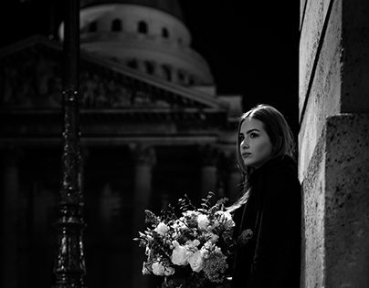 Love in Paris photoshoot
