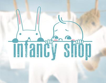 Логотип Infancy shop