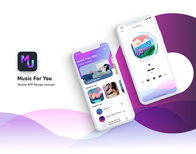 Music Player APP Design | UI/UX