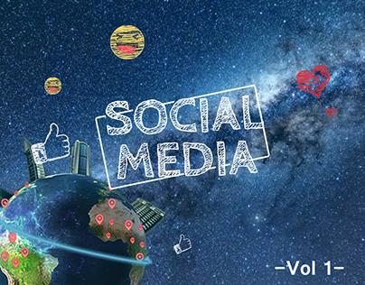 Social Media designs - vol 1 - 2015 : Early 2016