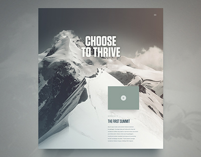 Thrive Course Page