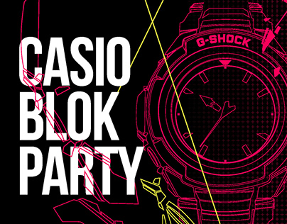 CASIO BLOK PARTY - G-SHOCK event
