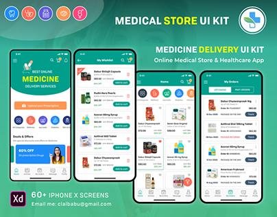 Medical Pharmacy UI KIT