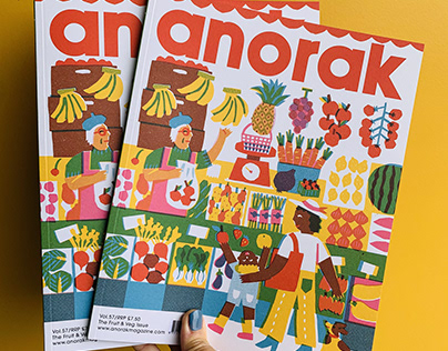 Anorak Magazine cover art