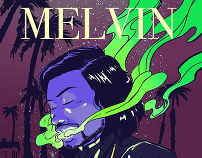 Melvin Brokenroads single artwork