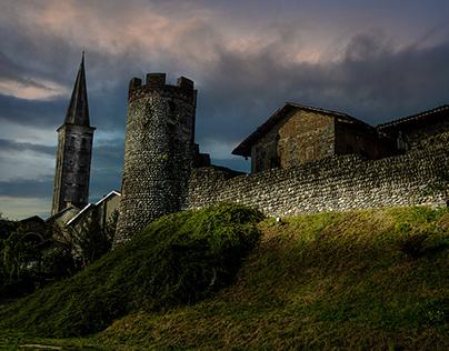Ricetto, borgo medievale di Candelo (BI)
