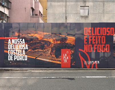 La Plata Parrilla | Brand Identity