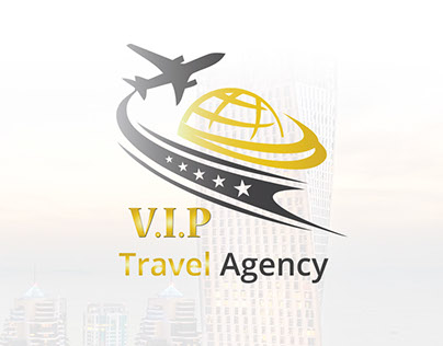 VIP Travel Agency - Logo Identity