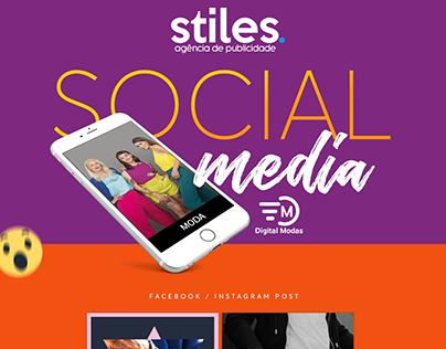 Social Media - Digital Modas
