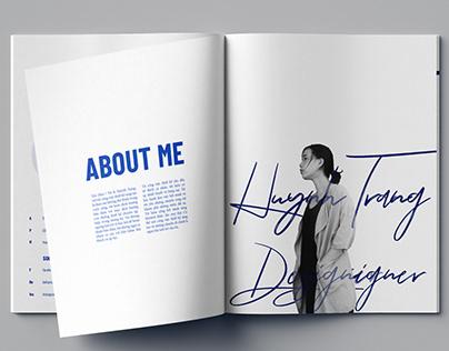Self Portfolio/Self Branding : Huynh Trang