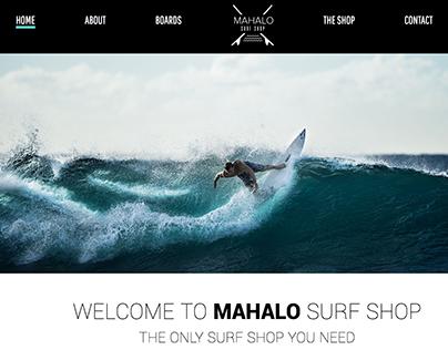 Mahalo Surf Shop