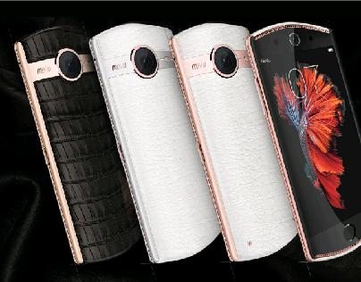 UPMARKET SMARTPHONE DESIGN FOR MEITU 2015