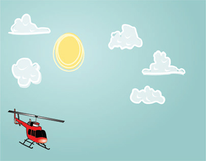 Helicopter Animation