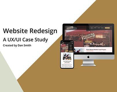 Website Redesign: A UX/UI Case Study