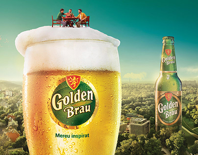 Golden Brau The Glass Half Full