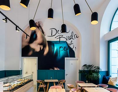 Dear Budapest, image and interior design