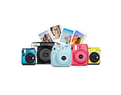 FUJIFILM INSTAX North America Branding and Packaging