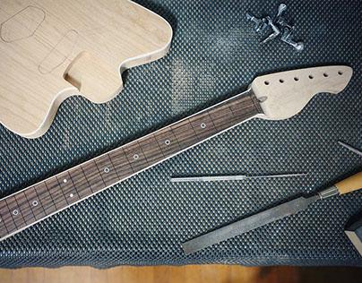 Surf Guitar - WIP