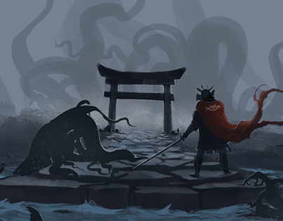 Samurai vs Dagon