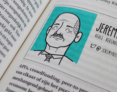 Book illustrations De Geldrevolutie