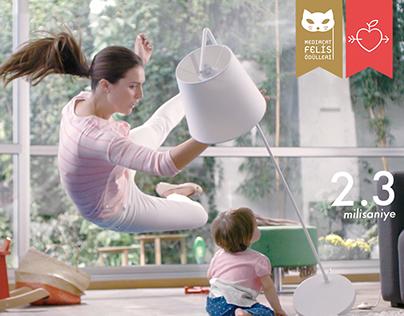Sebamed | Rakamlarla Annelik | TV Commercial
