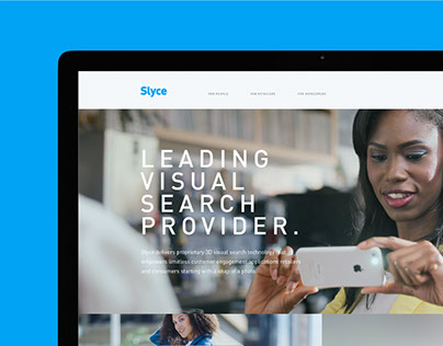 Slyce Website concept