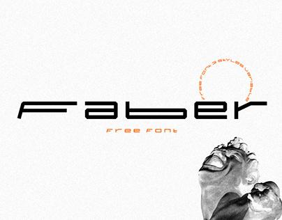FABER - Free Font
