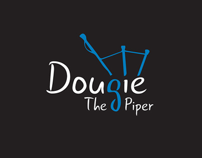 Dougie The Piper Branding