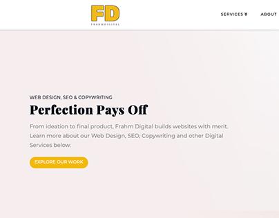 Website Development for Design Agency