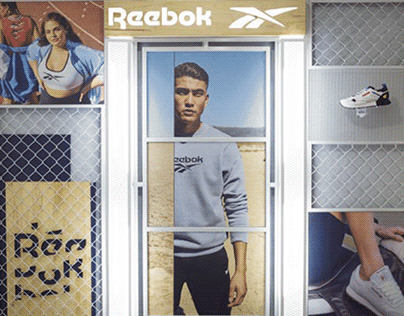 Window exhibition for Reebok - 2020