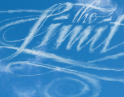 Animated lettering - The Sky's the Limit