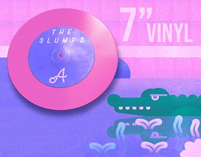 "7"" Vinyl Record Design"
