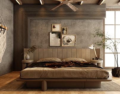 BOHO bedroom at KSA